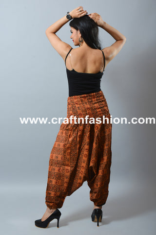 Yoga Wear Men/Women Rayon Cotton Trouser