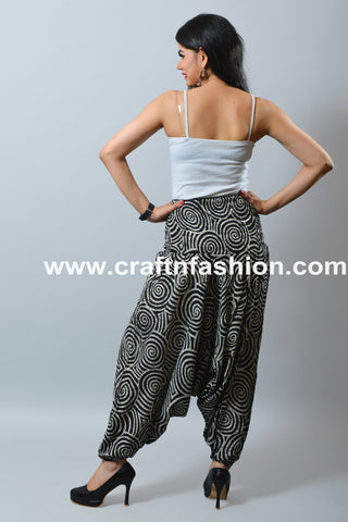 African Style Hippie Boho Baggy Trouser