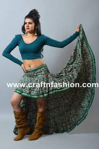 Mexican Dance Wear Ibiza Skirt