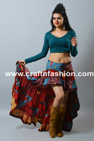 Beach Wear/Summer Wear Indo Western Skirt