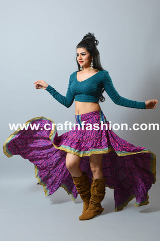 Indo Western Women Fashion Skirt