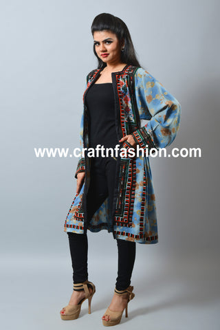 Women's Fashion Wear Indo Western Balochi Jacket