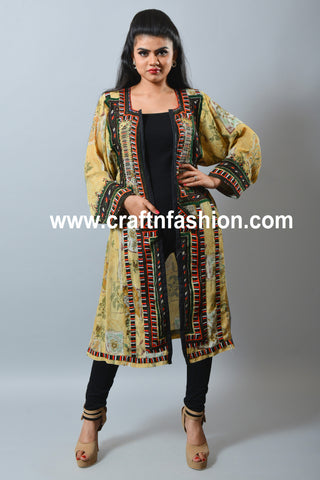 Embroidered Afghani Style Jacket