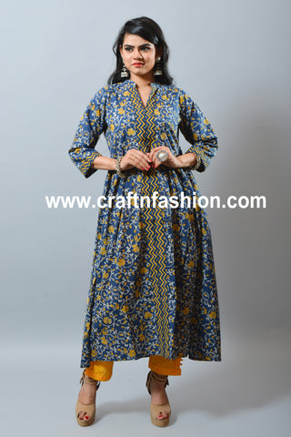 Summer Trouser & Long Cotton Kurti
