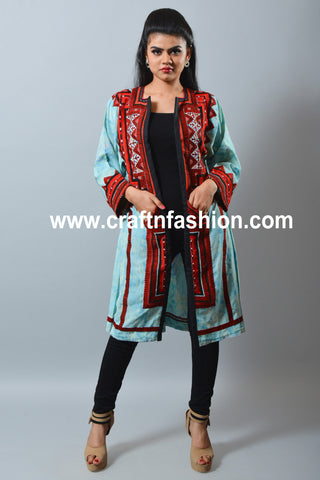 Fashion Wear Indo Western Kuchi Jacket