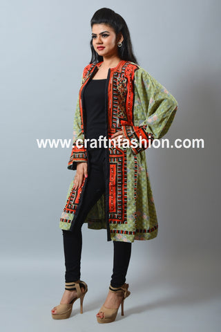 Indo Western Fashion Wear Balochi Jacket