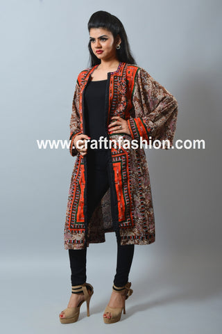 Traditional Vintage Afghani Style Jacket