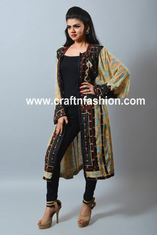 Women's Boho Gypsy Kuchi Jacket