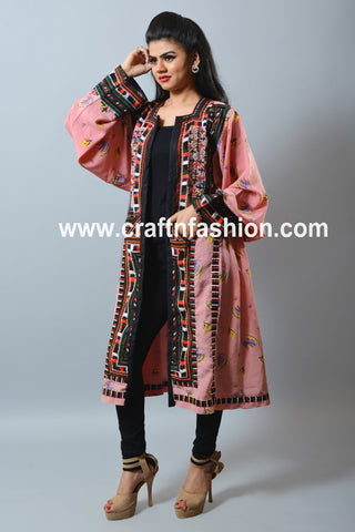 Balochi Kuchi Handmade Embroidered Jacket