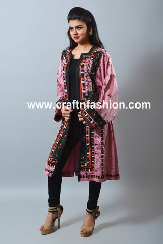Ladies Fashion Long Balochi Jacket