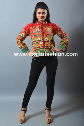 Short Boho Hippie Banjara Jacket