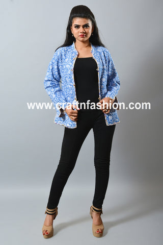 Ladies Fashion Wear Indo Western Jacket