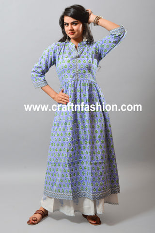Women's Summer Trouser & Cotton Kurti