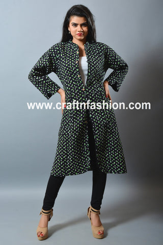 Exclusive Indian Designer Quilted Jacket