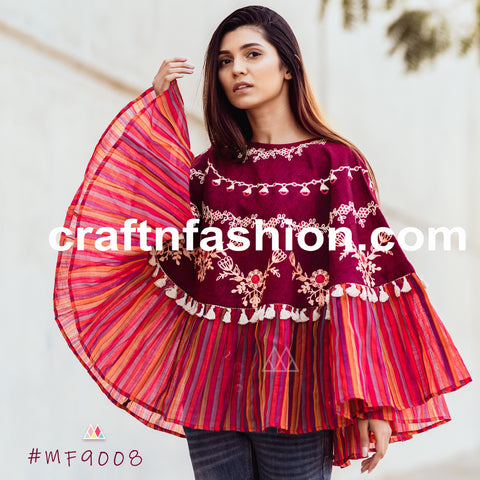 Indian Party Wear Top-Stylish Winter Body Cover Up