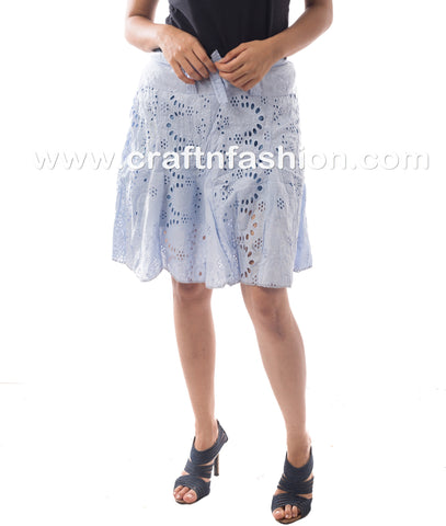 Fashionable Beachwear Hakoba Mini Skirt