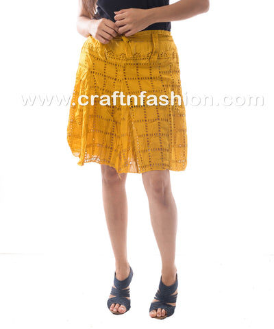 Exclusive Fashion Wear Hakoba Mini Skirt
