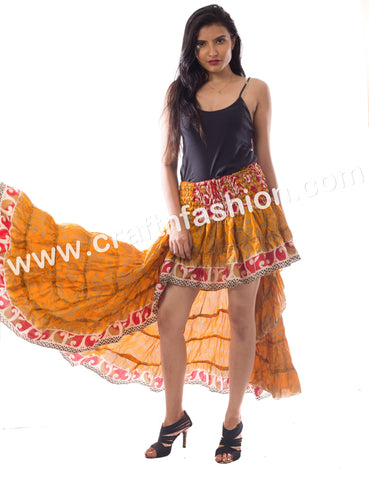 American Tribal Dance Wear Ibiza Skirt.