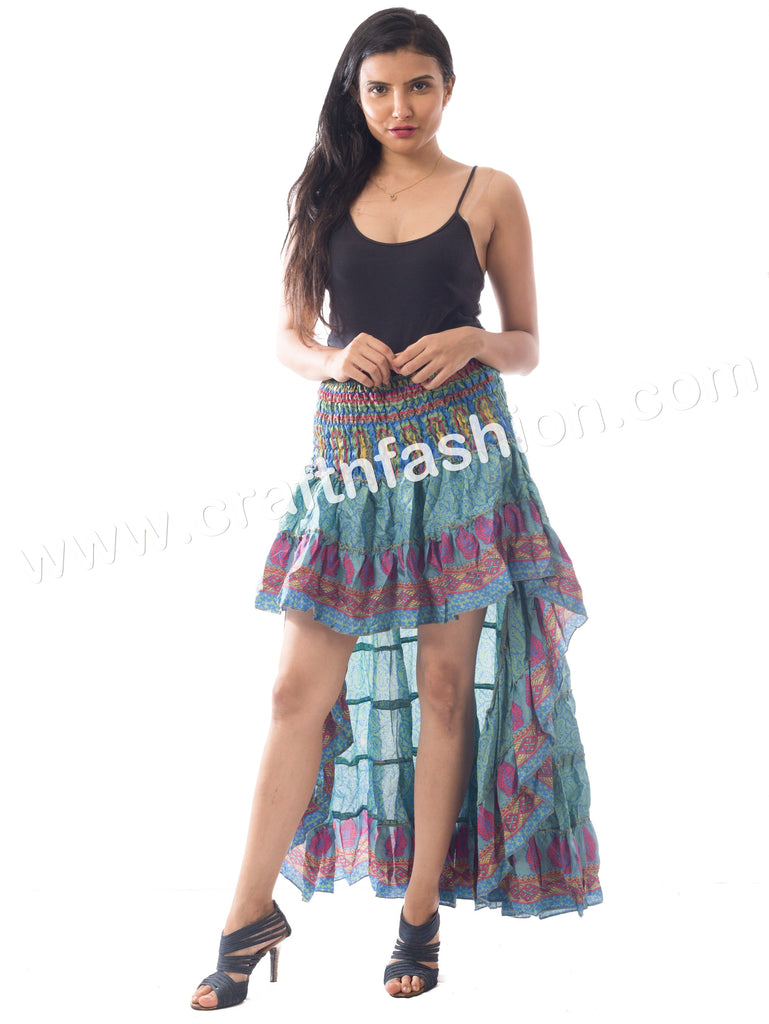Beautiful Designer Boho Style Ibiza Skirt.