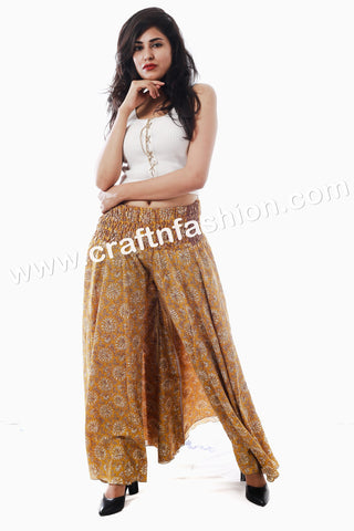 Indian Fusion Bohemian Women's Trouser