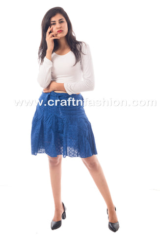 Designer Exclusive Fashion Wear Hakoba Skirt