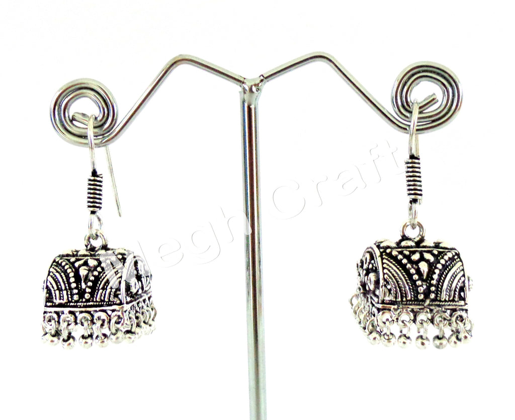Exclusive Oxidized Jhumki