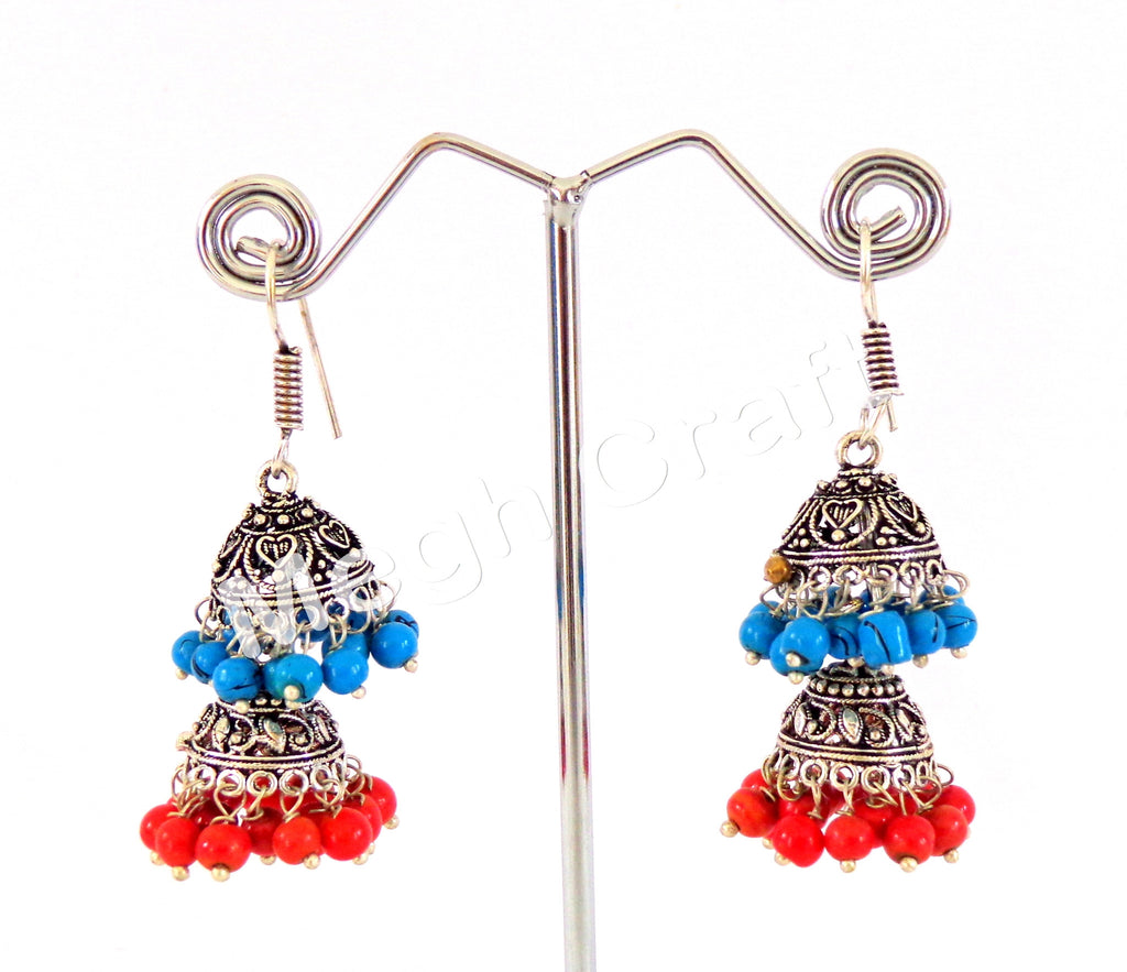 Designer Jhumka Earrings