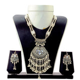 Indian Fashion Oxidised Jewelry Set