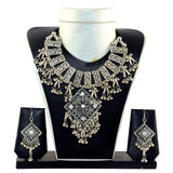 Mirror Work Indian Oxidised Jewellery Set