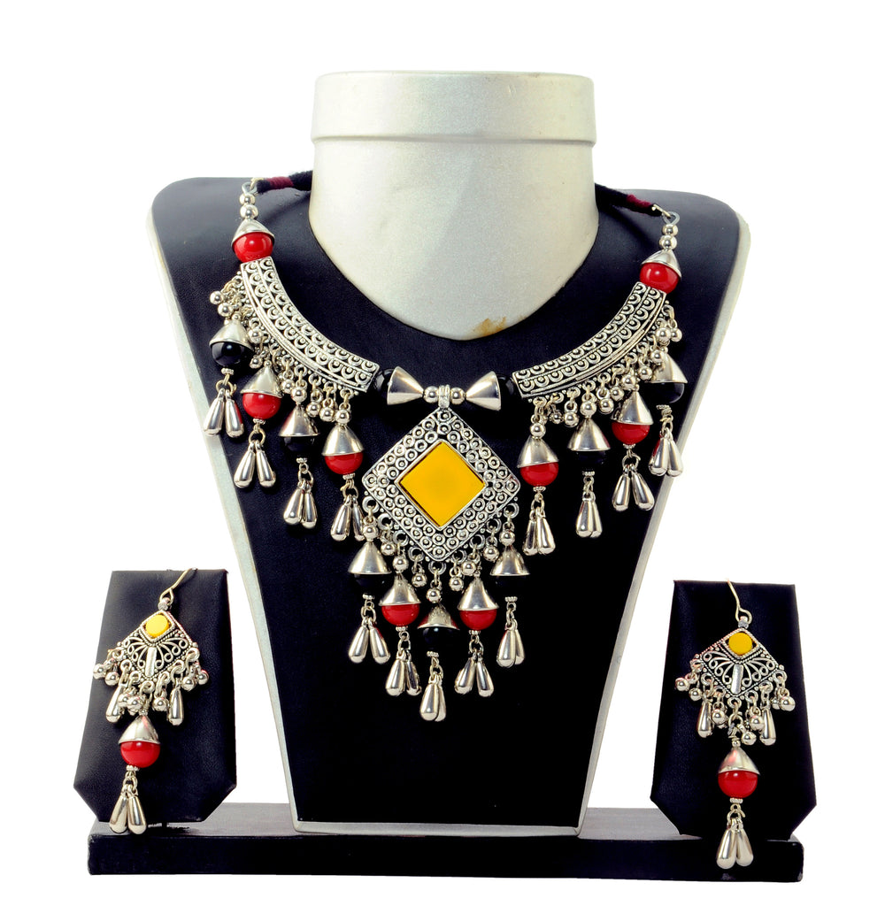 Banjara  Navratri Oxidised  Jewelry Set