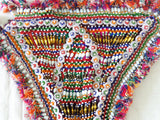 Triangle Glass Beads Patch