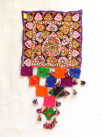 kutch Embroidery and Mirror Work Patch