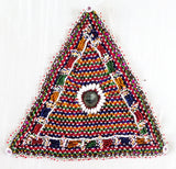 1960's Vintage kutch Beaded Patch