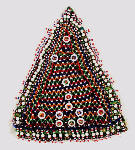 1960's Kutch Tribal Beaded Patch