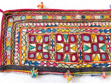 Gujarati vintage Mirror work Patch