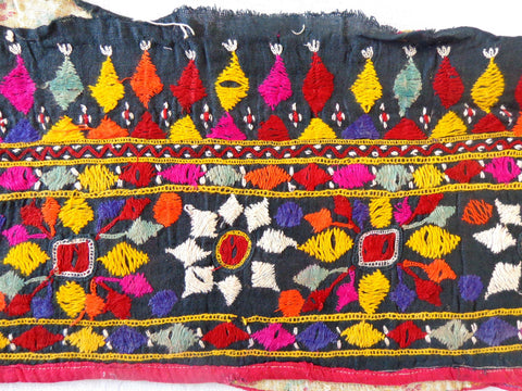 Rabari Hand embroidered mirror work