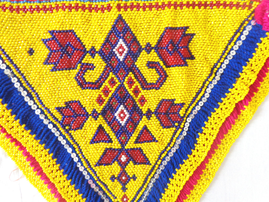 Vintage Indian Banjara Handmade Patch
