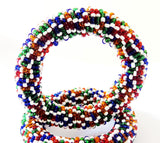 Indian  Colorful Beaded Bangles Bracelets