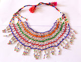 Multi Strand Glass Beaded Necklaces