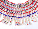 Indian Glass Beads Handmade Necklace