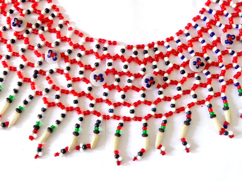 Pearl Beaded Handmade Necklace Set