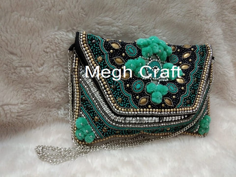 Party Wear Designer Women's Clutch Purse