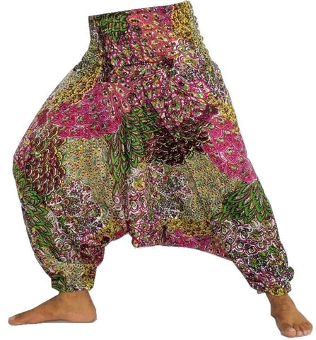 Peacock Style Cotton Harem Pant