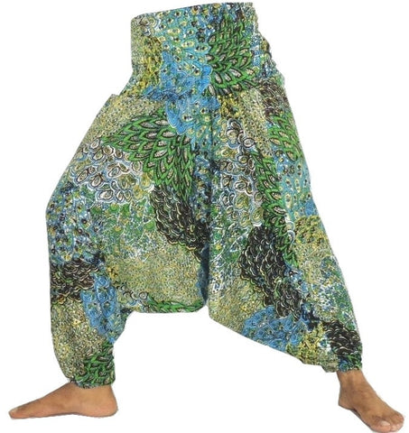 Indian Peacock Style Harem Pant