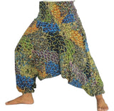 Peacock Fashion Wear Printed Harem Pant