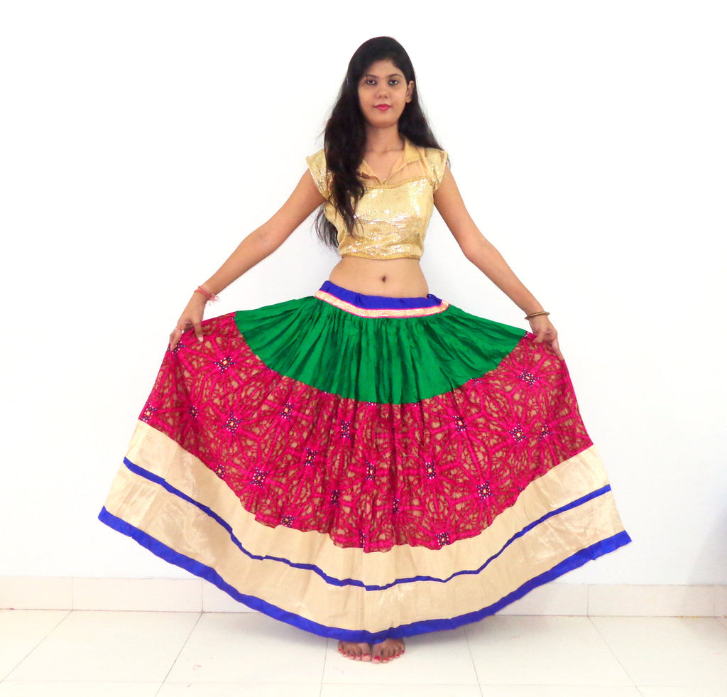Bohemian Navratri Special Fashion Skirt