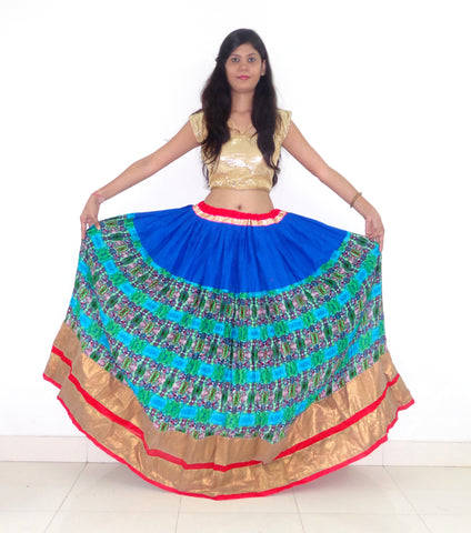 Indian Printed Navratri Skirt