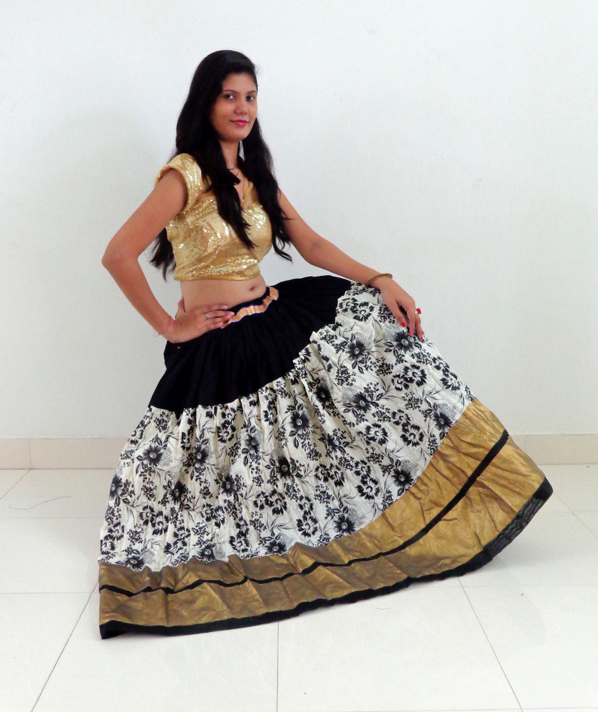 Gujarati Traditional Navratri  Skirt