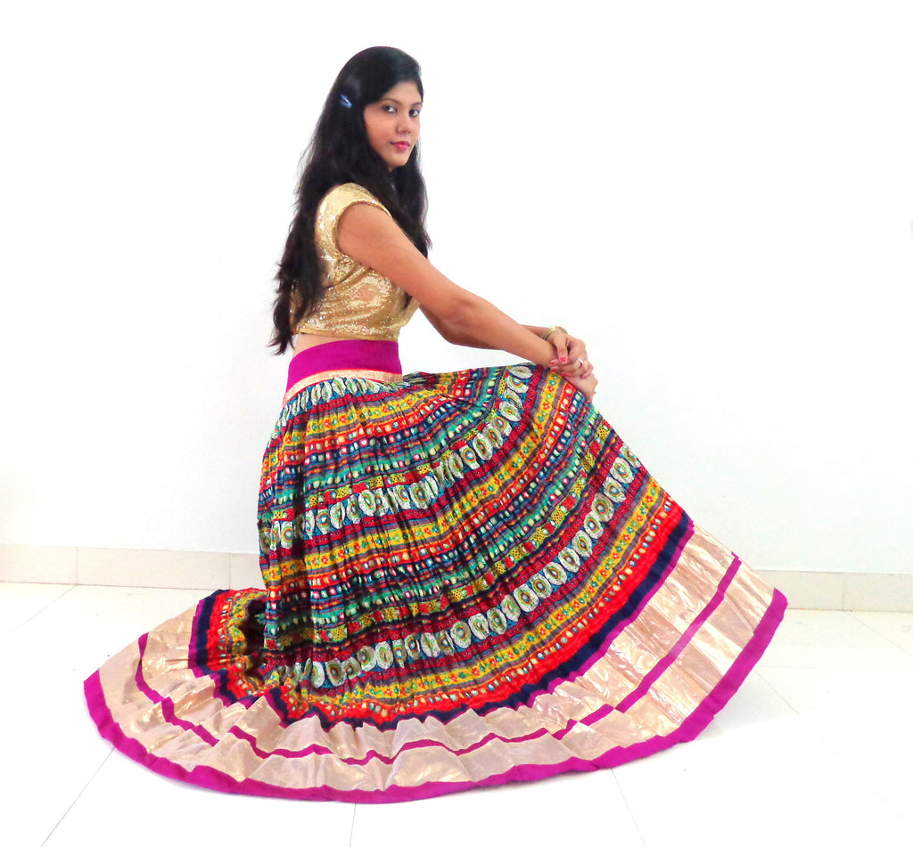 Indian Navratri Special Fashion Skirt