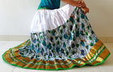 Gypsy long boho skirt